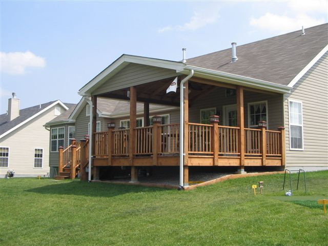 image covered deck, porch Atlanta home addition