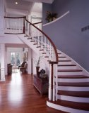 image install custom staircase in atlanta home, new stair case installation by georgia construction consultants, atlanta