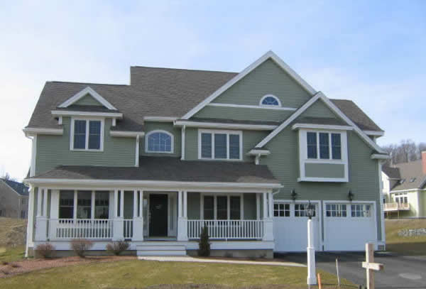 image of completed home painting job, exterior home painting atlanta residence